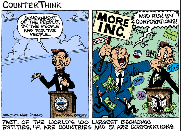 Think Tanks Vs. Crony Capitalism